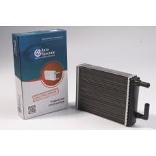 Радиатор отопителя Газель, Соболь (алюм.) со спиралью (турбулизатор) салонный (для 3221-8110010)