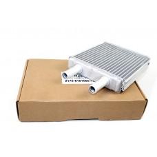 Радиатор отопителя ВАЗ 2170 с кондиционером HALLA,  паяный (алюминиевый)