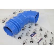 Патрубок ДМРВ Газель NEXT дв.Evotech 2, 7 (шланг фильтра воздушного- верхний гнутый) силикон синий