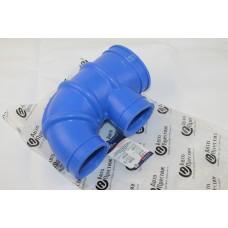 Патрубок ДМРВ Газель дв.40524, 4216 Euro-3 (шланг воздухопр. к фильтру воздушному) силикон синий